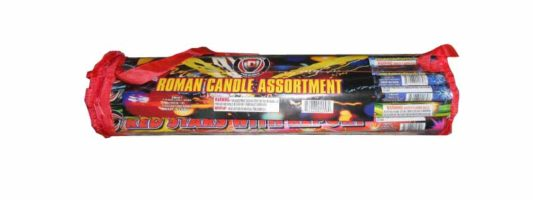 ROMAN CANDLE POLY BAG